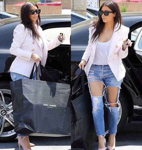 u2h9sa-l-610x610-jeans-kim-kardashian-summer-ripped-jeans-heels-kim-k-outfit