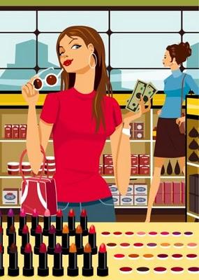 girl-shopping-for-makeup