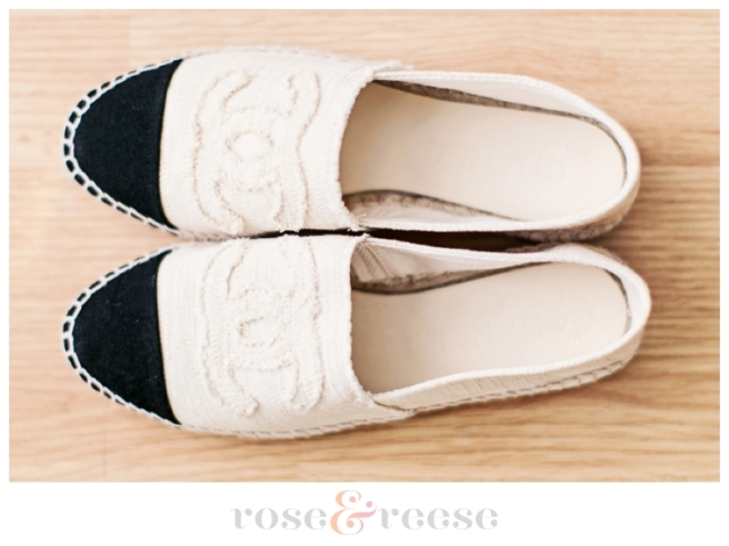 Chanel Fabric Espadrilles | Rose & Reese