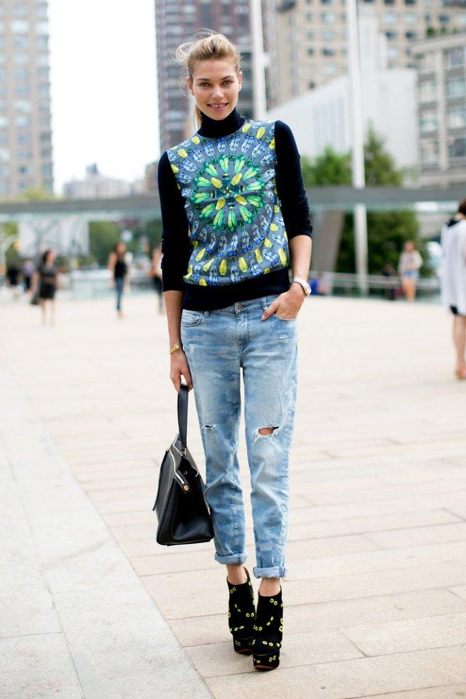 Jessica-Hart-said-all-statement-sweatshirt